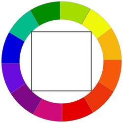 A Tetrads Color Scheme Is When You Use Four Colors That Go Logically Together Such Two Pairs Of Complementary An Example